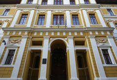 Pécs - Fassade Detail (Klára Leöwey Gymnasium)