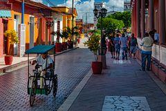 Pedestrian street in Baracoa