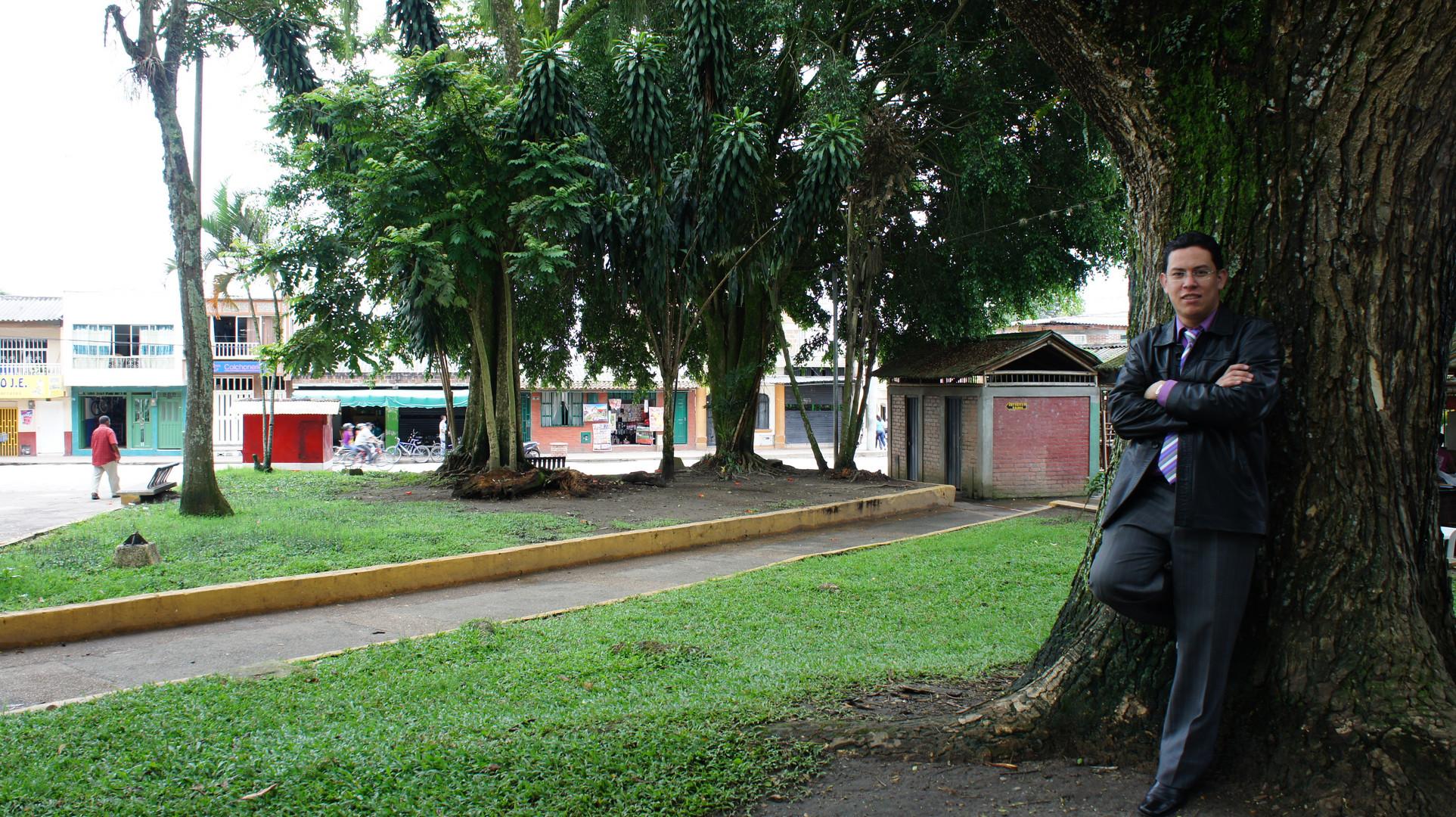 Pedro Martinez parque Filandia
