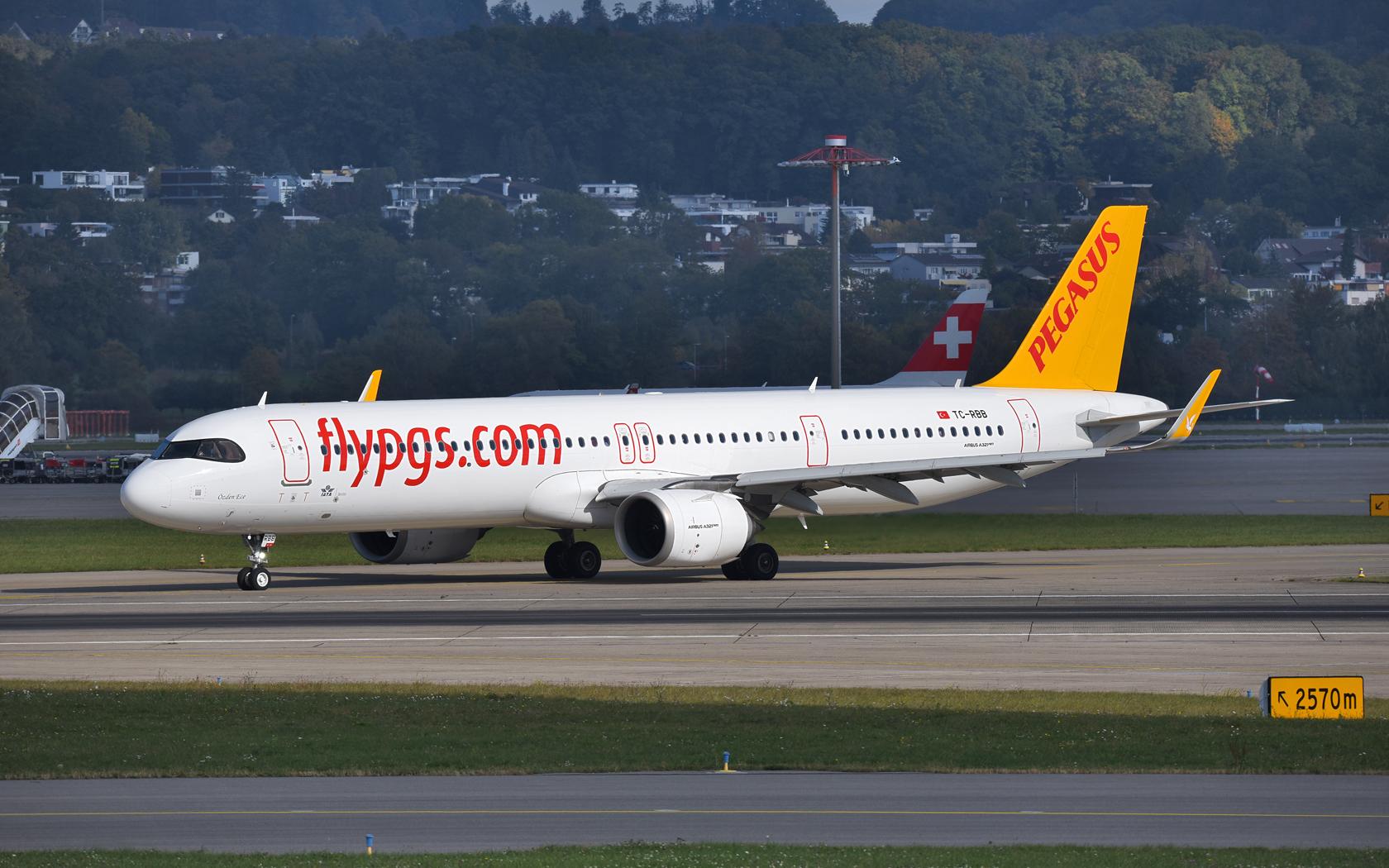 Pegasus Airlines  Airbus A321-251NX TC-RBB