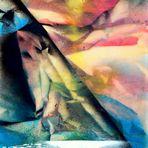 """Peinture abstraite""""Antartica"""""""