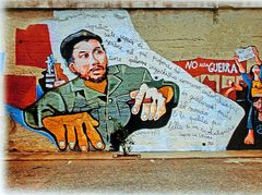 peinture murale de CHE GUEVARA