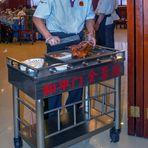 Peking duck in Quanjude Roast Duck Restaurant