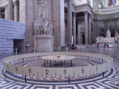 Pendule de Foucault au Panthéon, Paris
