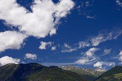 Pennellate di nuvole su Glorenza