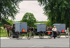 Pennsylvania   Amish parking  