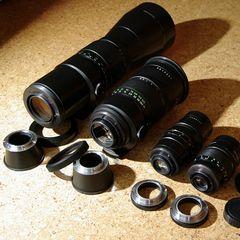Pentacon Teleobjektive