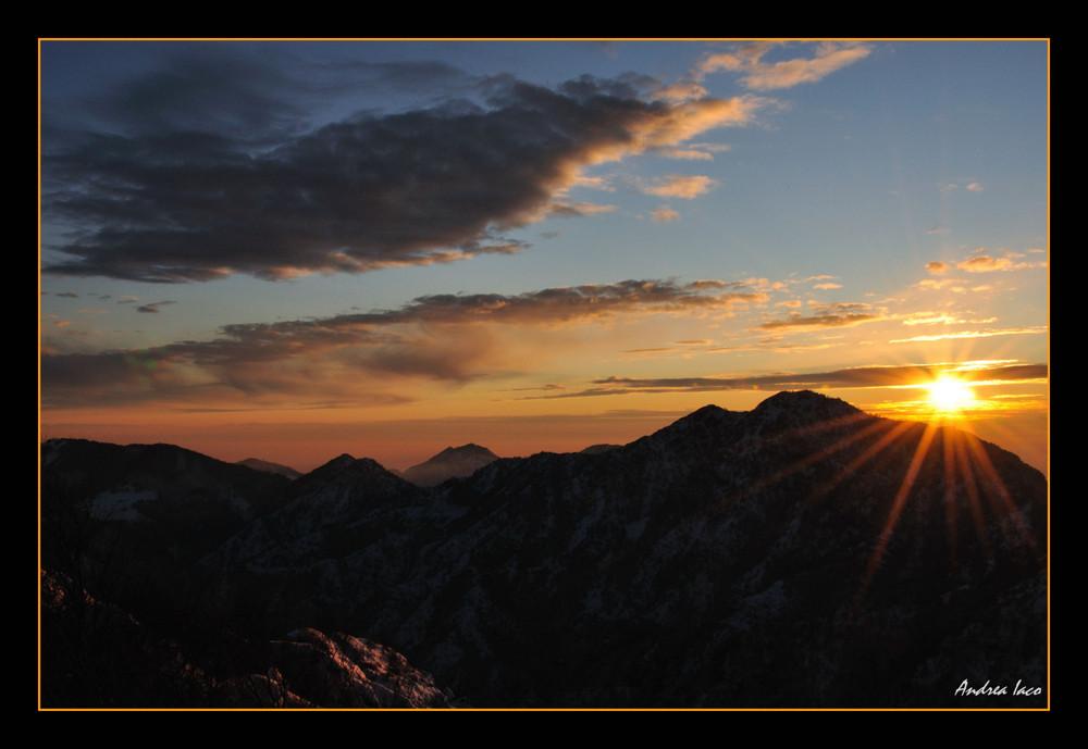 Penultimo tramonto del 2008