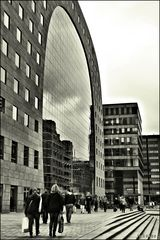 - People and buildings -
