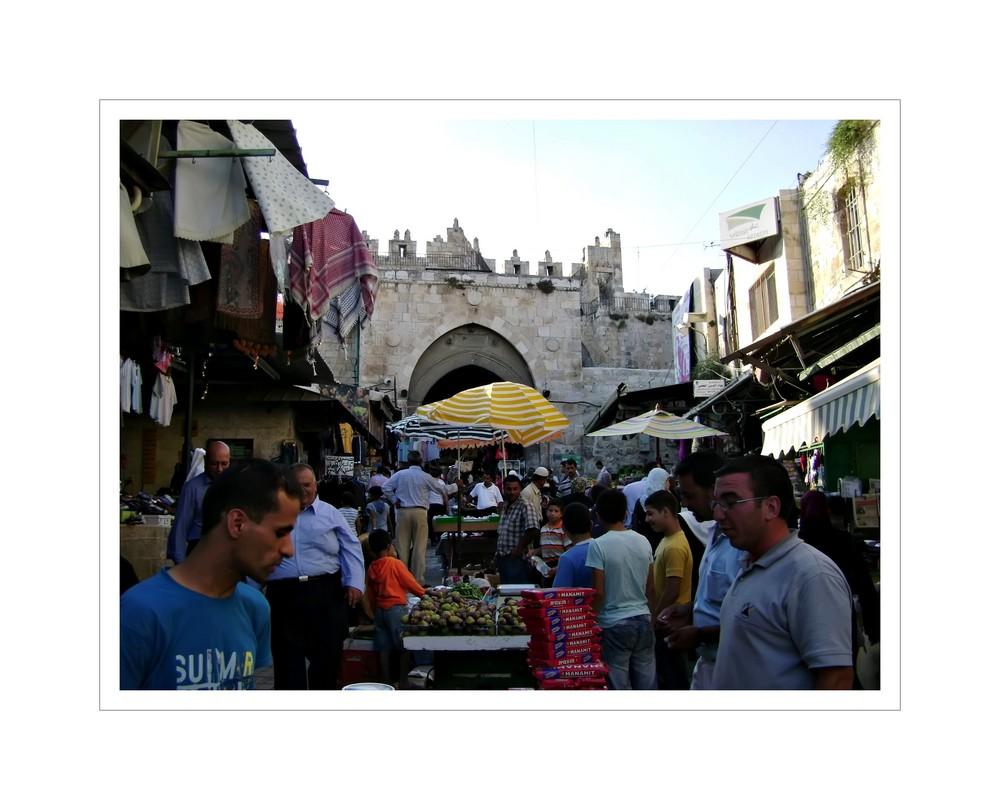 People in Jerusalem