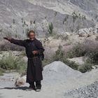 Per Anhalter durch's Nubra-Tal / Ladakh