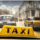 per Taxi durch Havanna