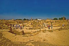 Pera Sandskulpturenausstellung