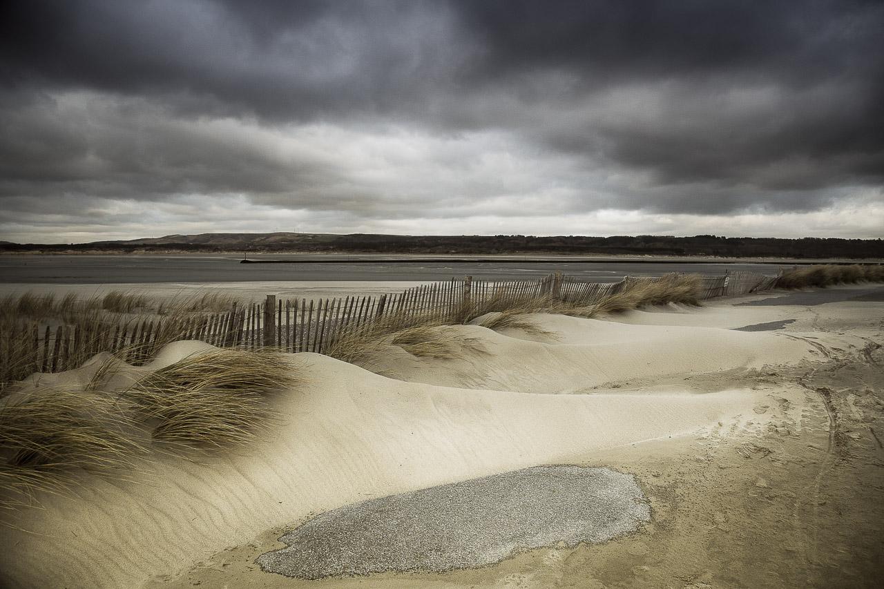 perdu dans les dunes du Touquet