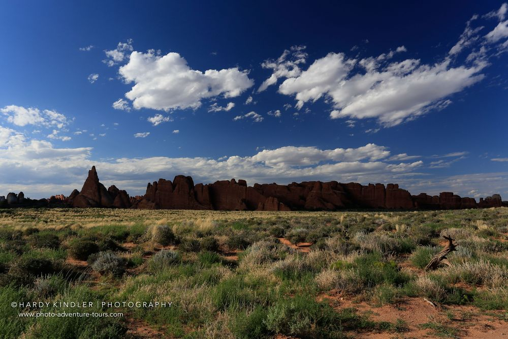 Perfect light in Arches NP