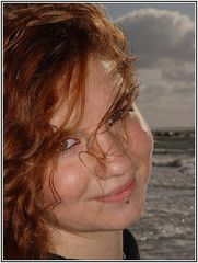 Perfect Smile. Perfect Light. Saya at the Atlantic Ocean.