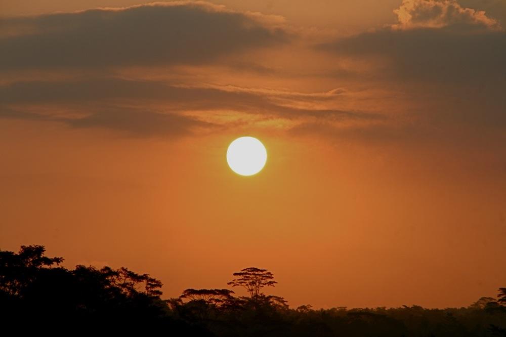 Perfect Sunset Circle