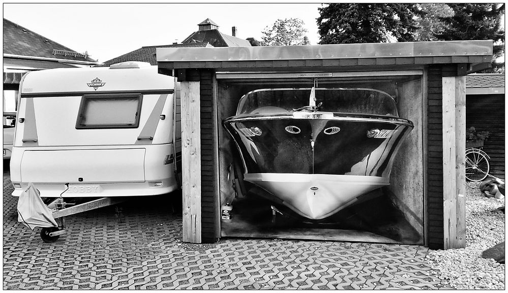 Perfekt eingeparkt!