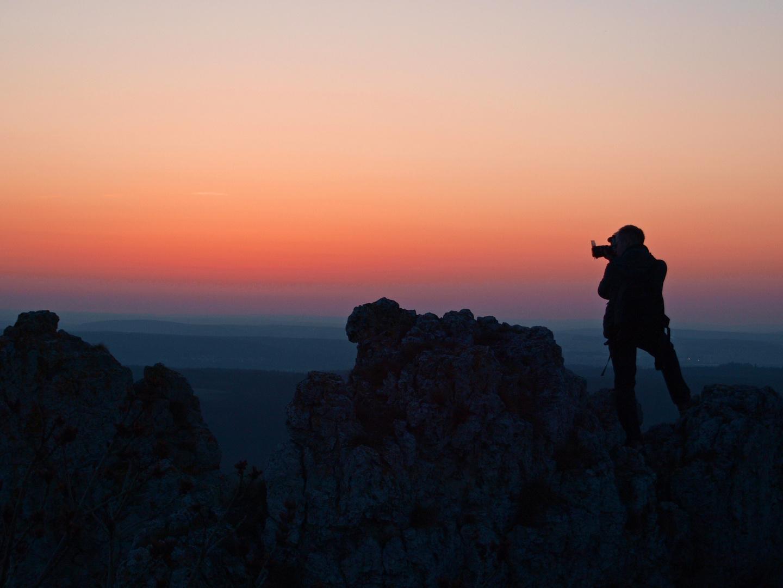 Perfekter Standpunkt für ein spektakuläres Foto?