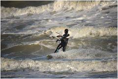 Performance of kitesurf
