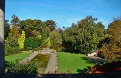 Pergola and Hill Garden
