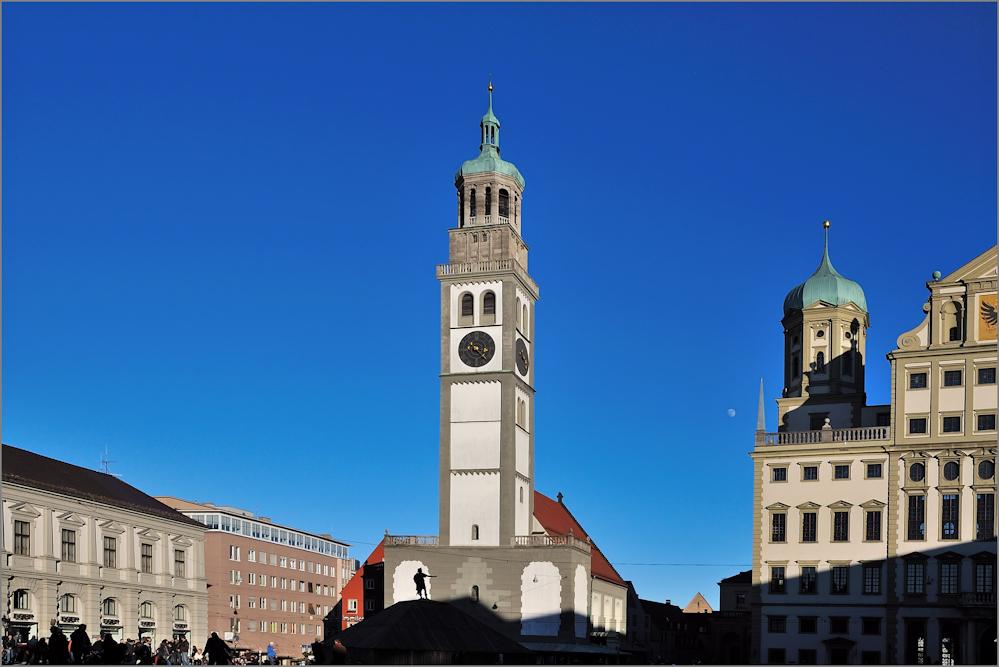 Perlachturm am Rathaus