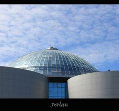 Perlan - Glaskuppel auf riesigen Heißwasserspeichern