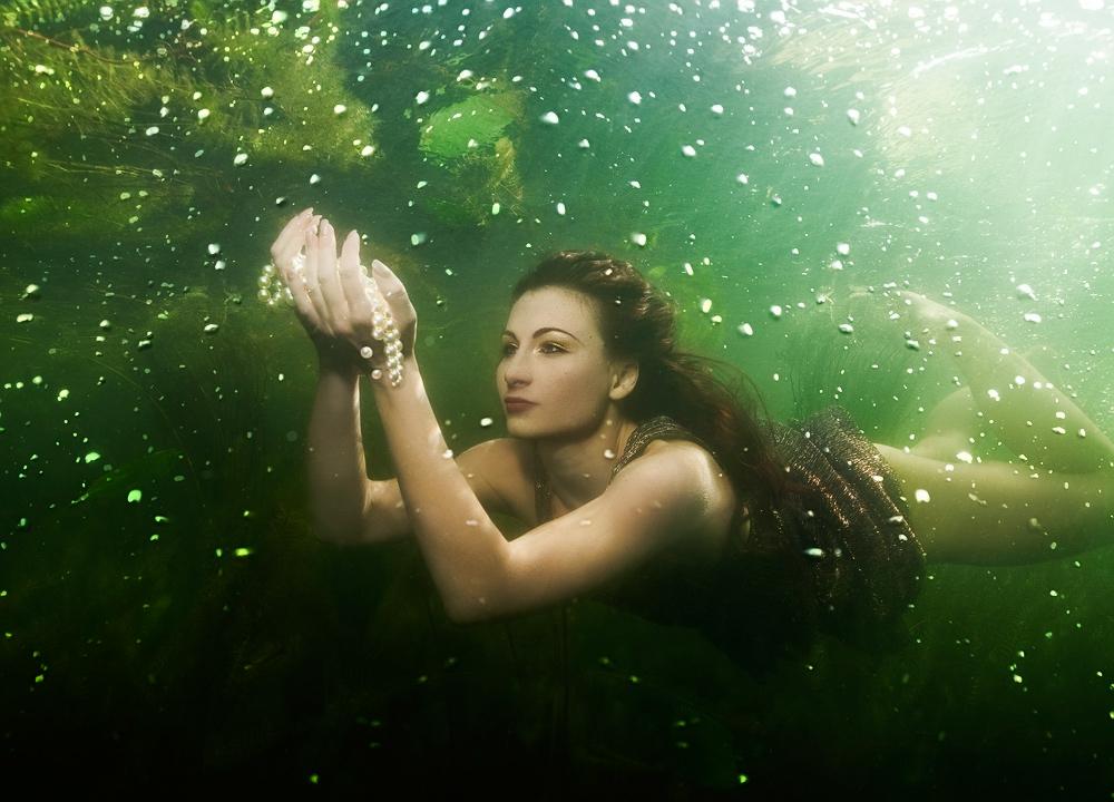 Perlen Jägerin
