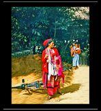 Persone della tribù dei Karen