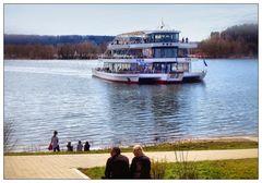 Personenschifffahrt am Brombachsee