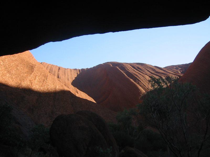 Perspektive Ayers Rock