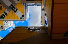 Perspektive mit Blick nach oben