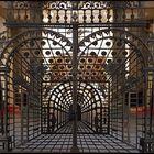 Perspektivisches Gitter im Dom Paderborn