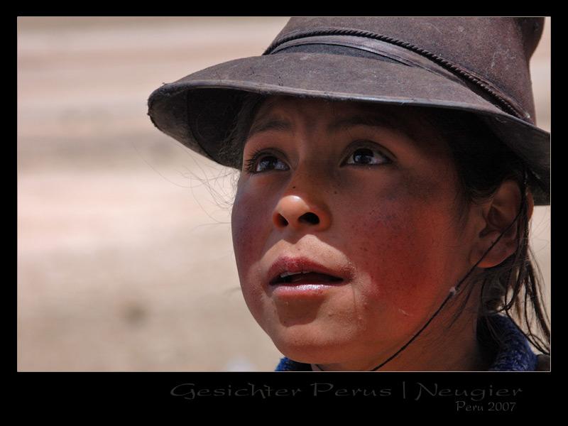 Peru 2007 / Gesichter Perus - Hirtenmädchen