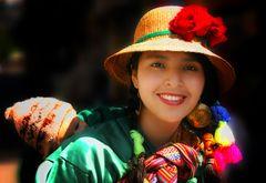Peruanerin mit Kind