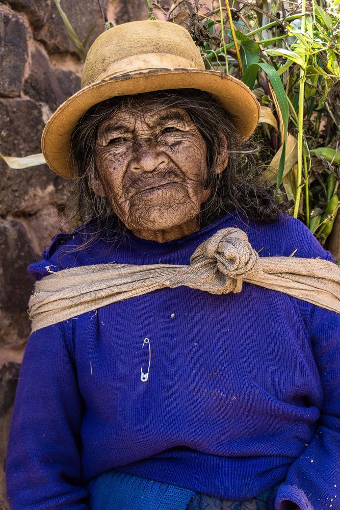 Peruanische Bäuerin