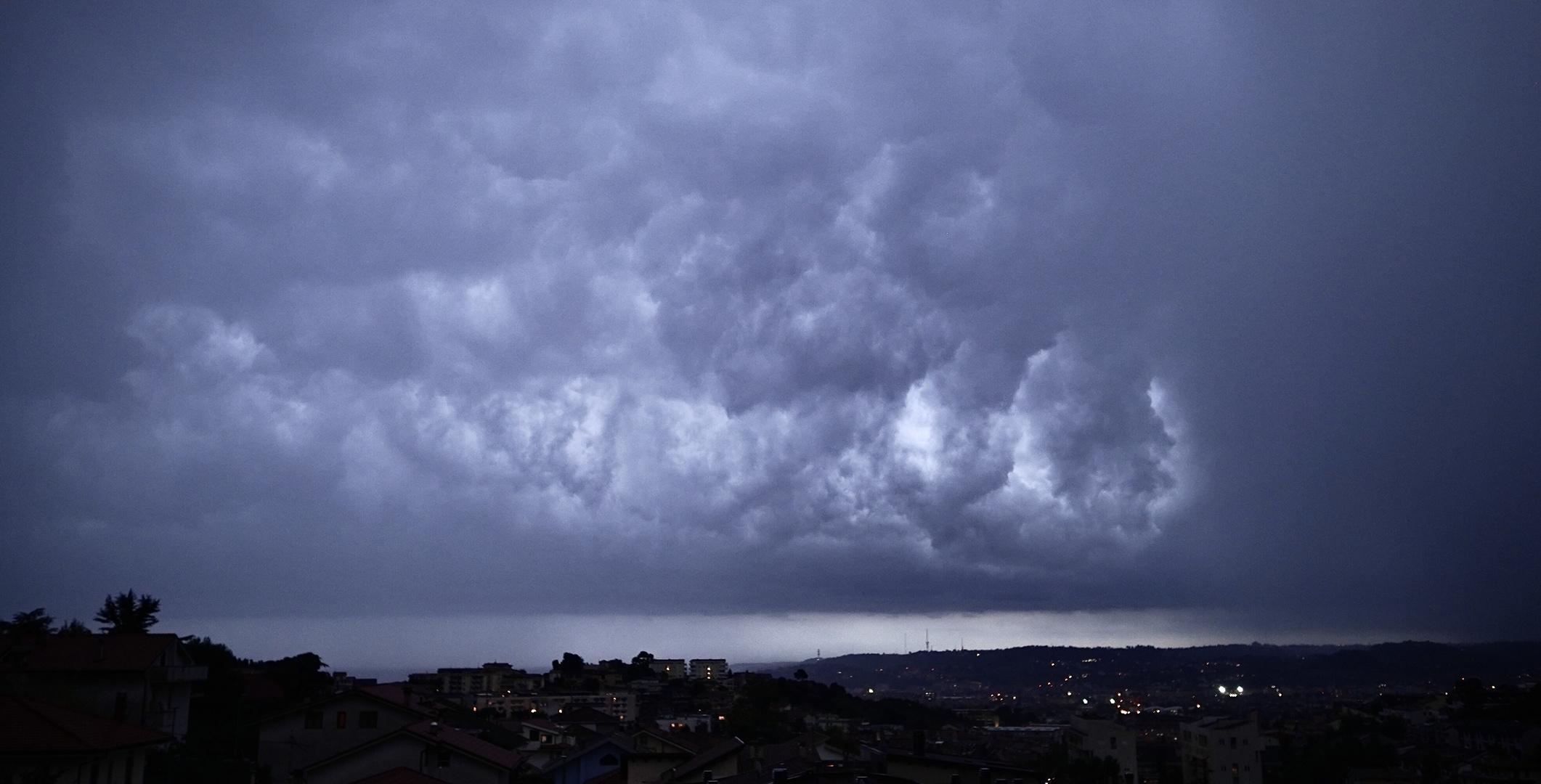 Pescara colli - la quiete prima della tempesta
