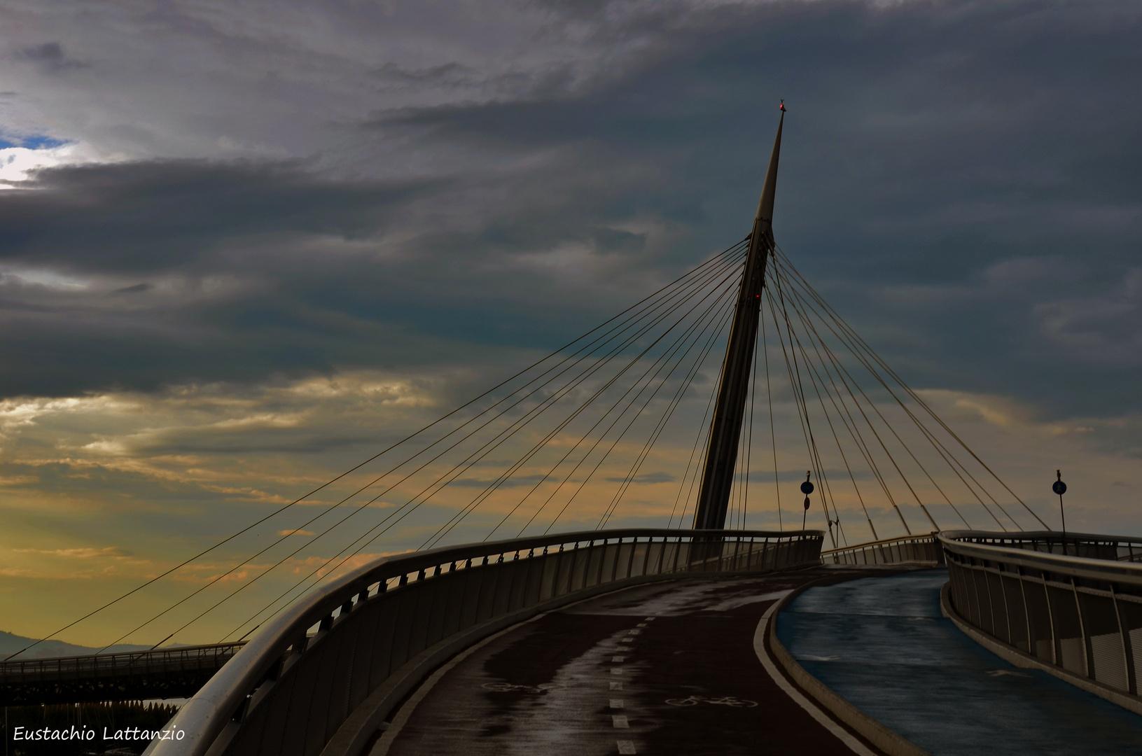 PESCARA....il ponte sul mare...