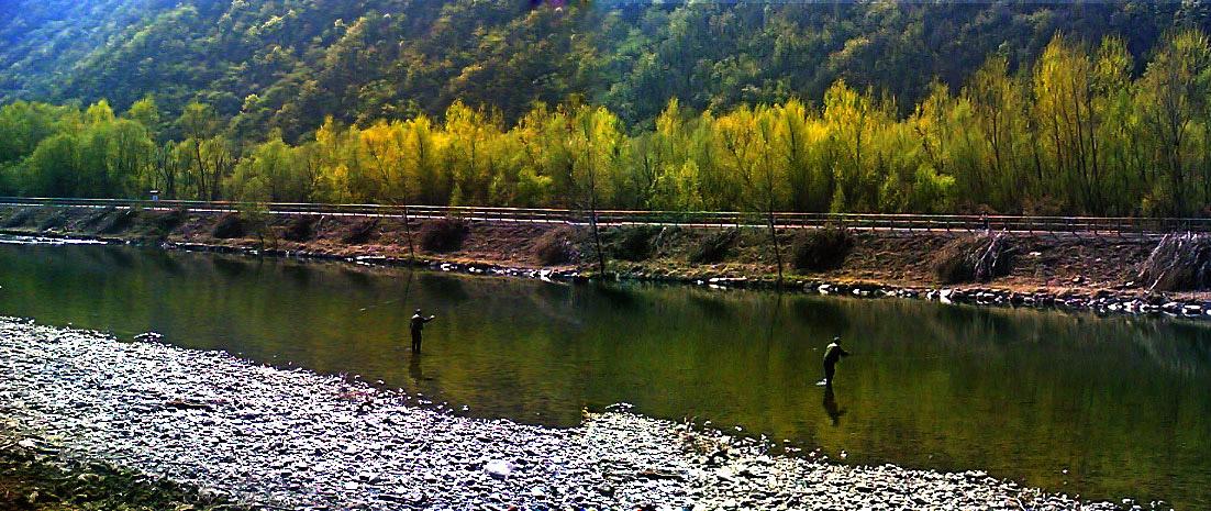 pescare è bello e rilassante