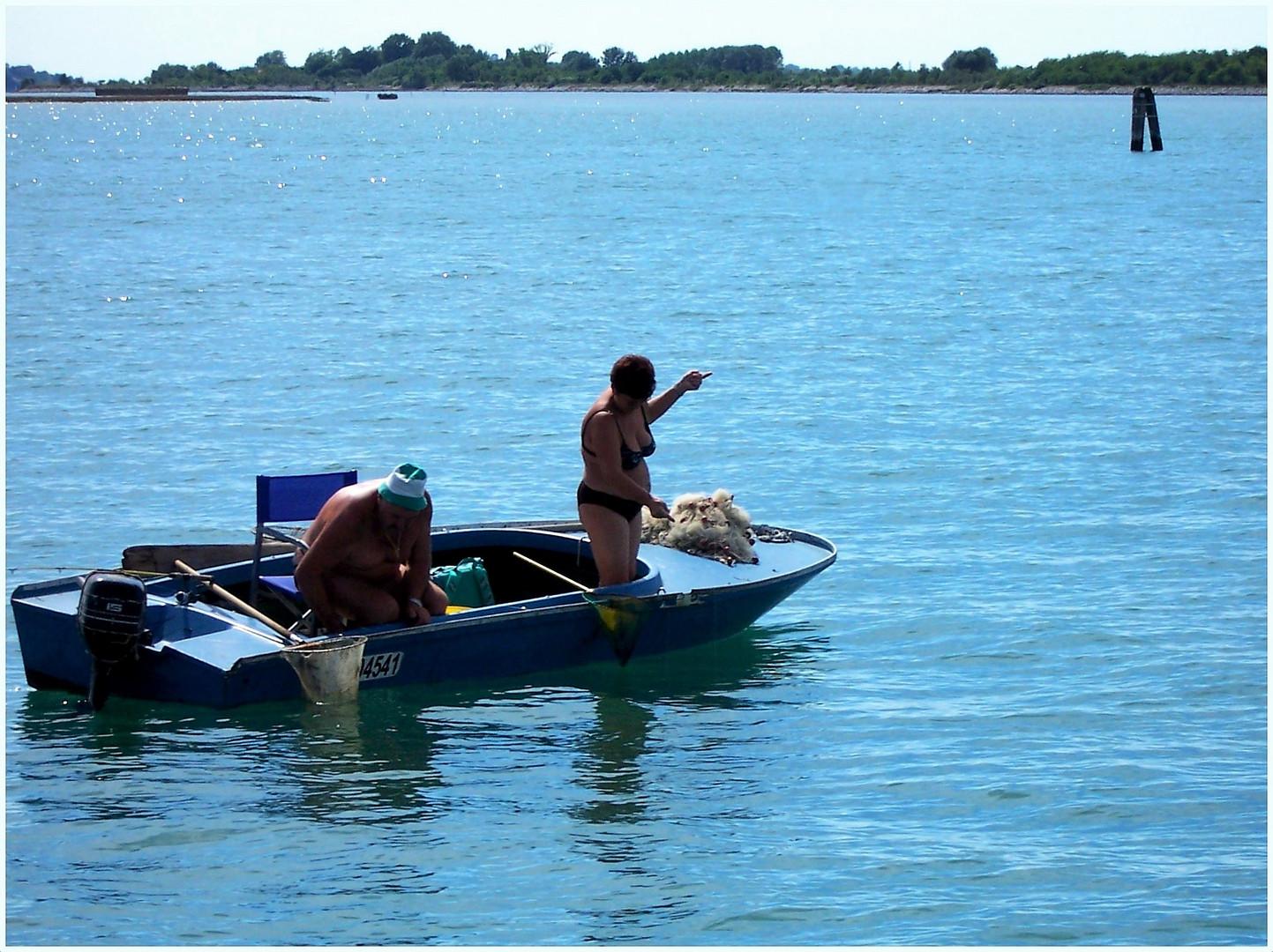 Pescare ... in famiglia