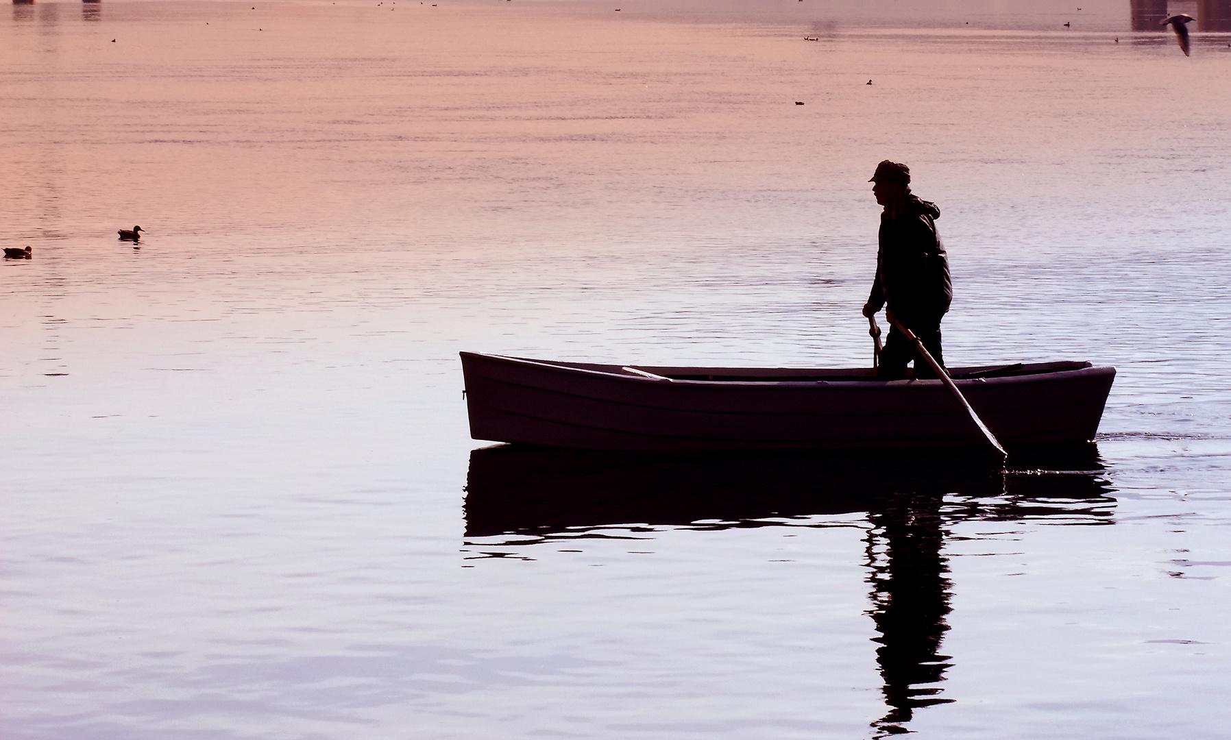 Pescatore sull'Adda