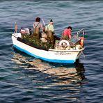 Pescatori lavorando