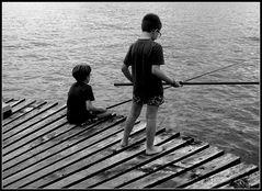 Pescatori si nasce....