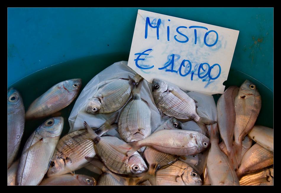 pesce misto
