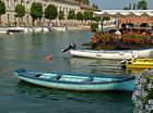 Peschiera, am alten Hafen