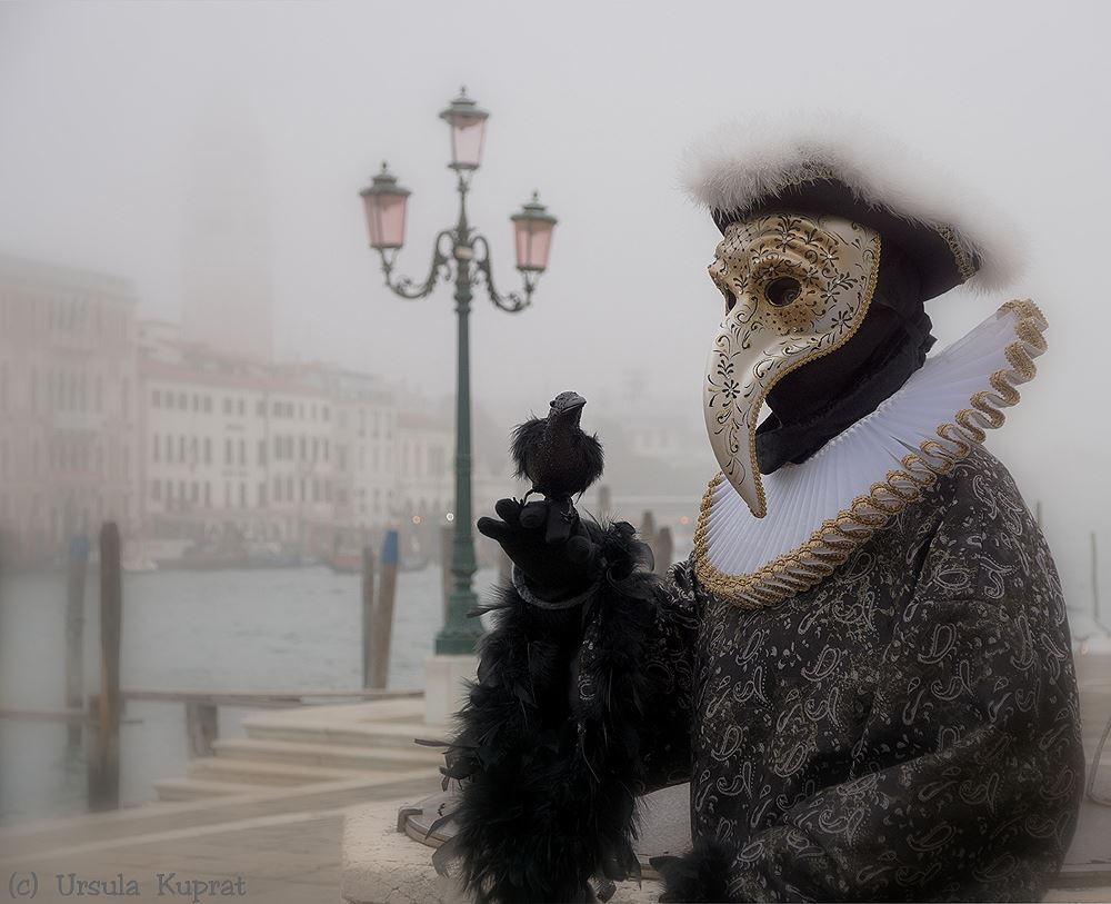 Pest Maske an der Salute