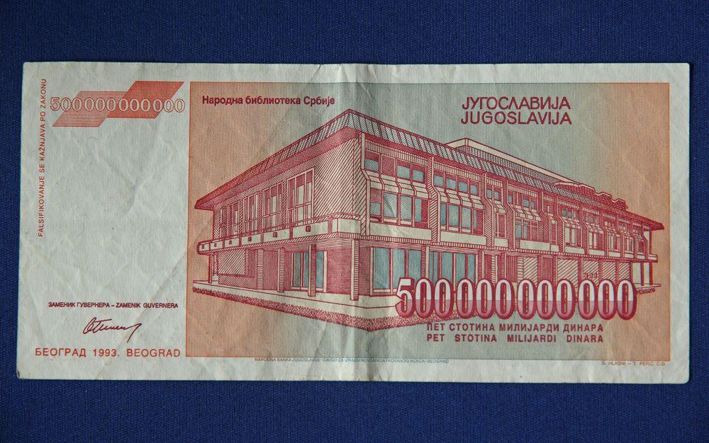 Pet Stotina Milijardi Dinara