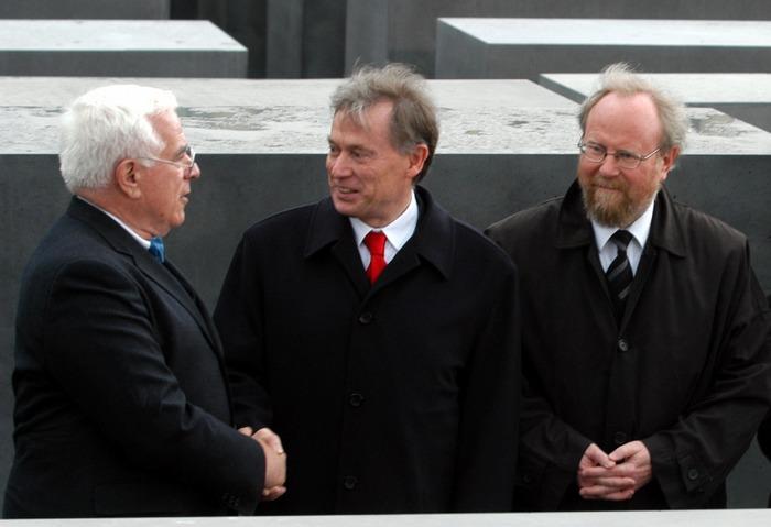 Peter Eisenman, BP Horst Köhler und BTP Wolfgang Thierse