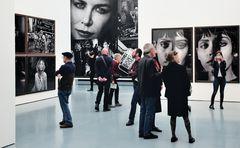 Peter Lindbergh´s last Exhibition in Düsseldorf