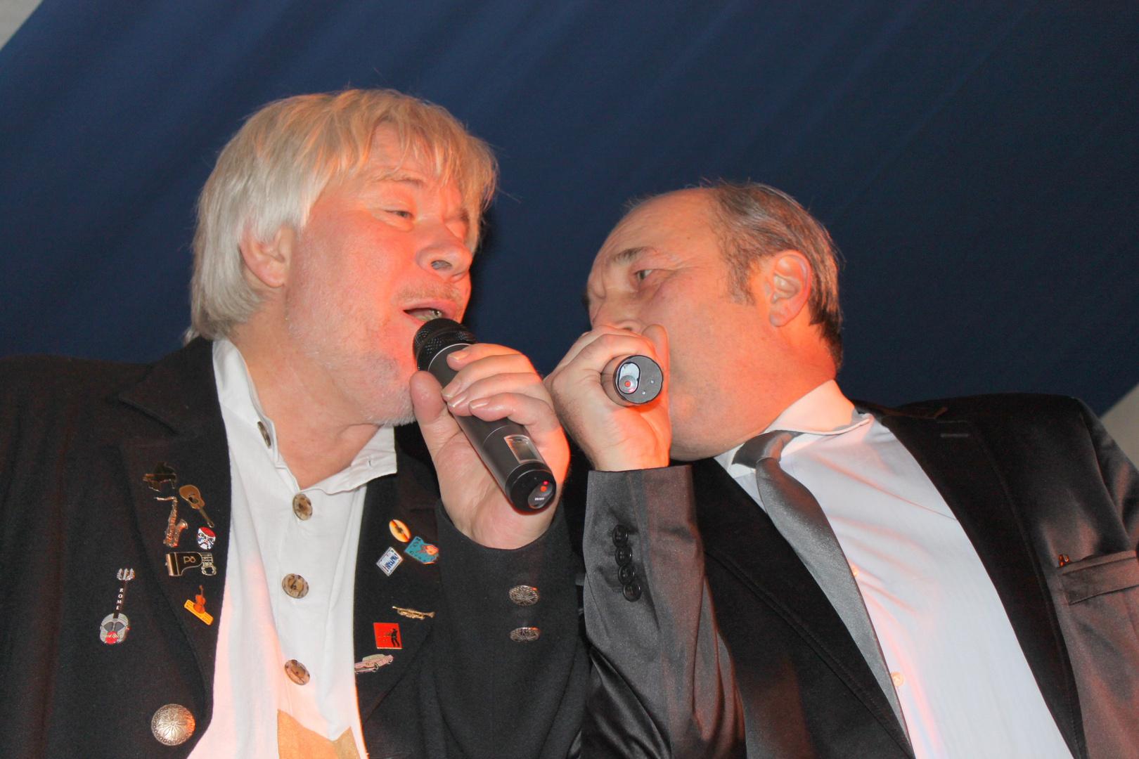 Peter Petrel und Volker Stahlhut (NDR)
